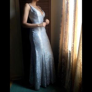 Jovani Gown in Silver